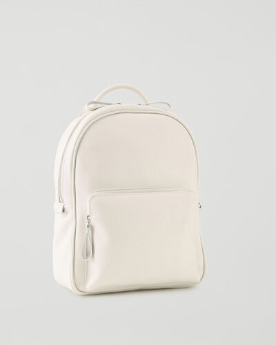 Roots-Leather Backpacks-Chelsea Pack Cervino-Ivory-A