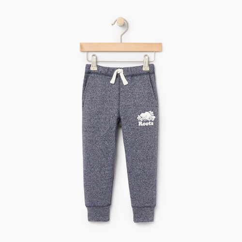 Roots-Kids Toddler Boys-Toddler Park Slim Sweatpant-Navy Blazer Pepper-A