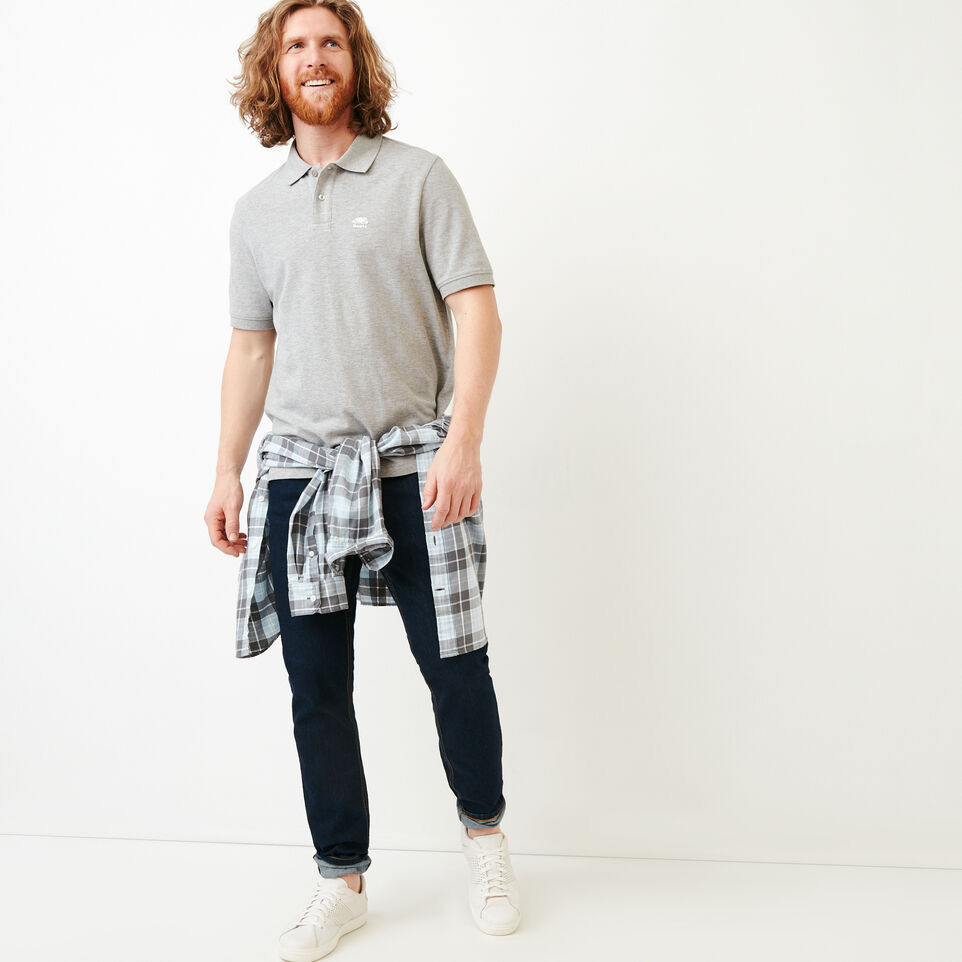 Roots-Men Shirts & Polos-Heritage Pique Polo-undefined-B