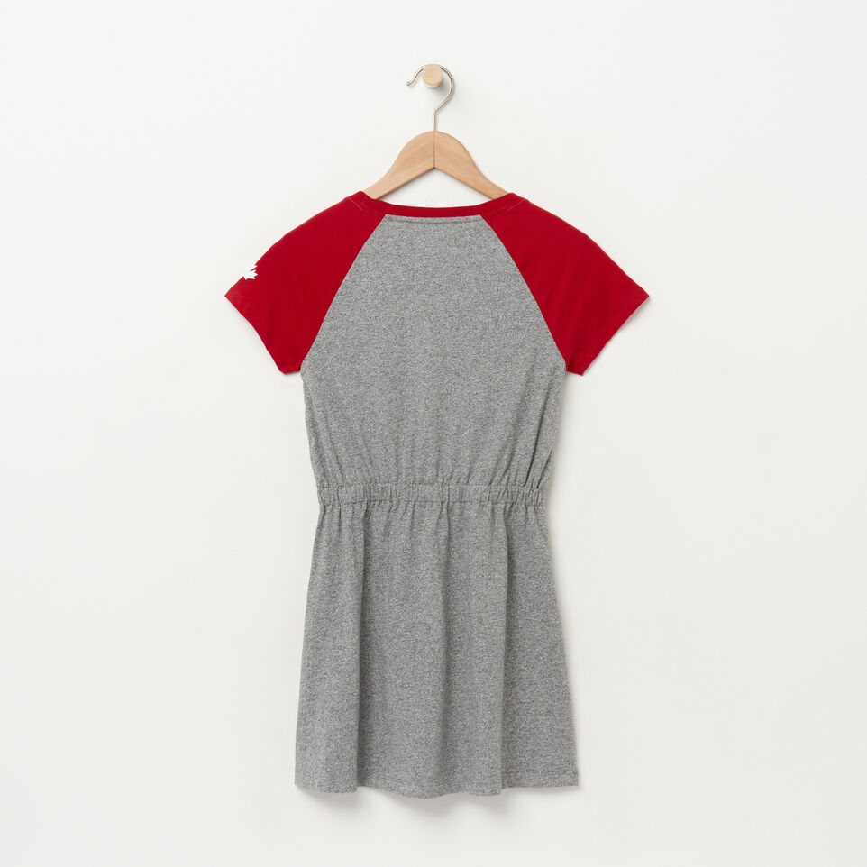 Roots-undefined-Girls Canada Raglan Dress-undefined-B
