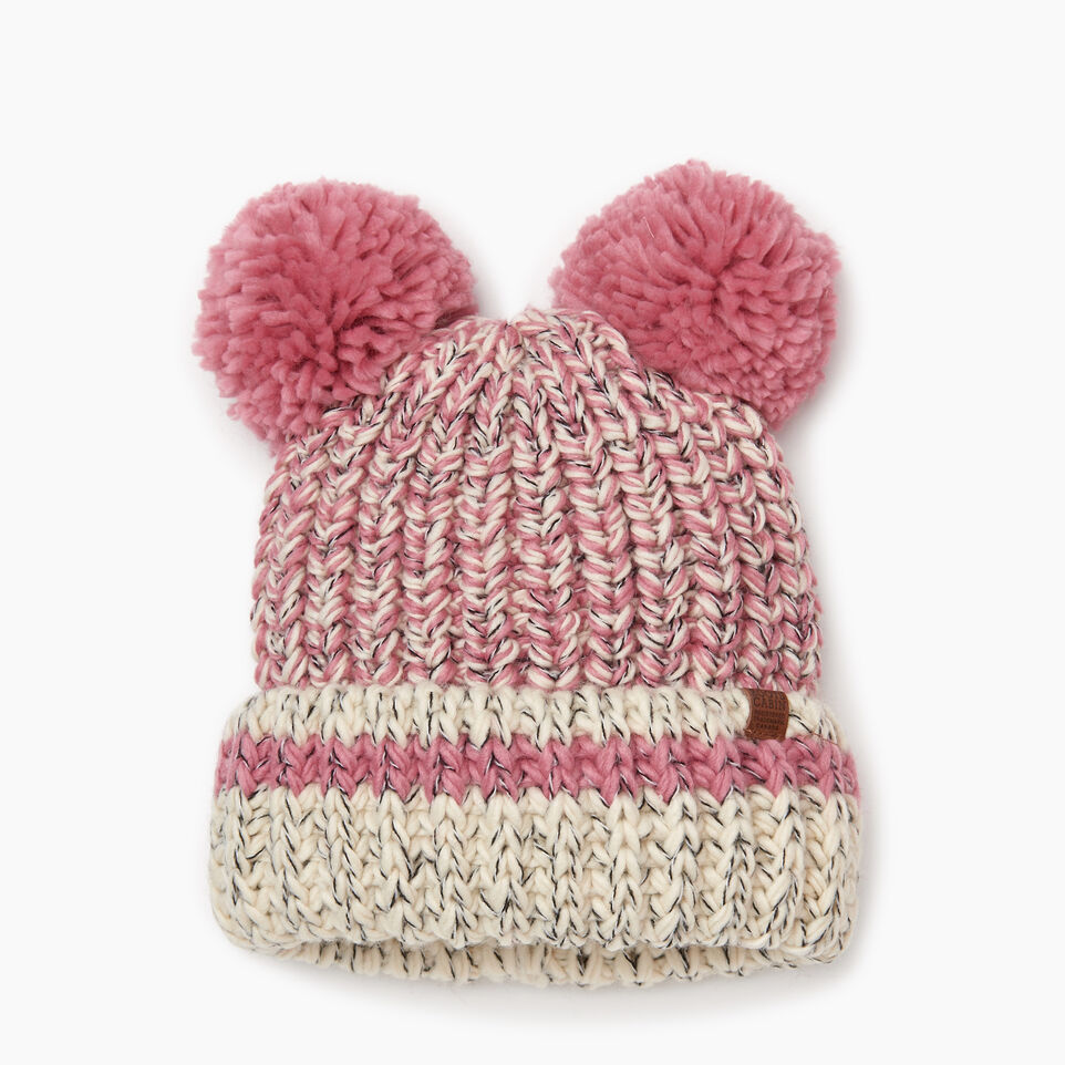 Roots-Sale Kids-Toddler Chunky Cabin Toque-Pink Mix-A