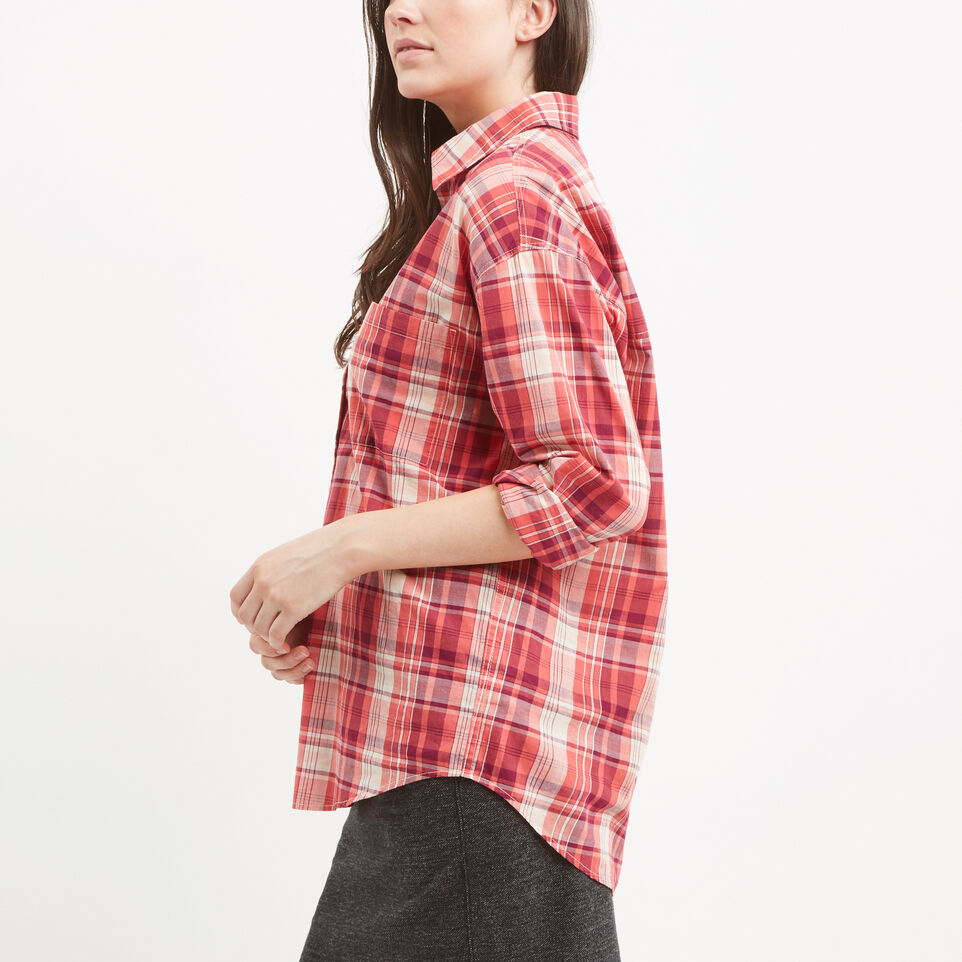 Roots-undefined-Arria Madras Plaid Shirt-undefined-B