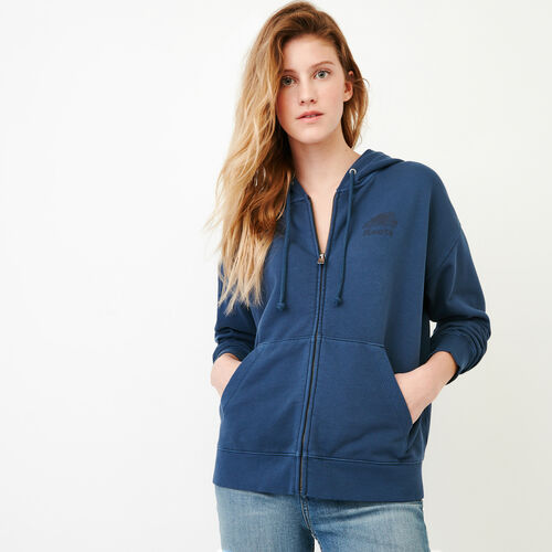 Roots-Women Our Favourite New Arrivals-Kelowna Full Zip Hoody-Sargasso Sea-A