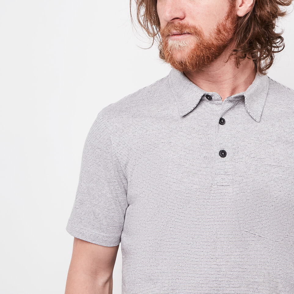 Roots-undefined-Striped Jersey Polo-undefined-C