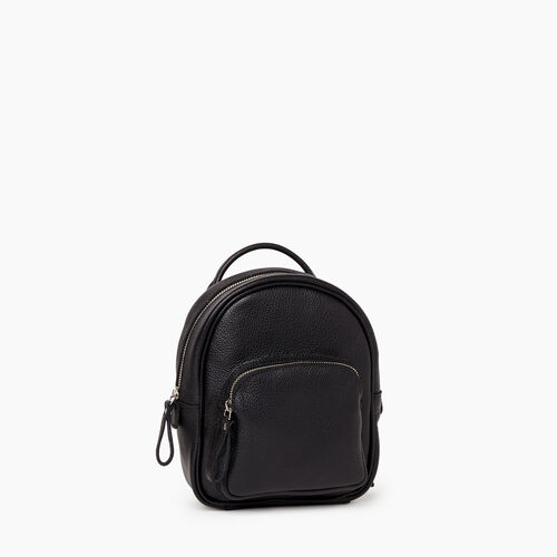 Roots-Women Leather-Mini Chelsea Pack Cervino-Black-A