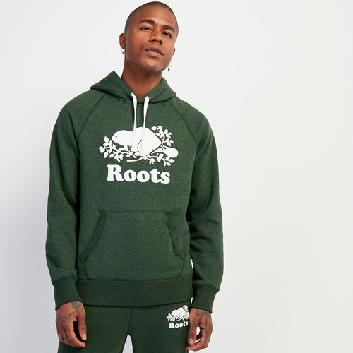 Roots-Men New Arrivals-Original Kanga Hoody-Camp Green Pepper-A