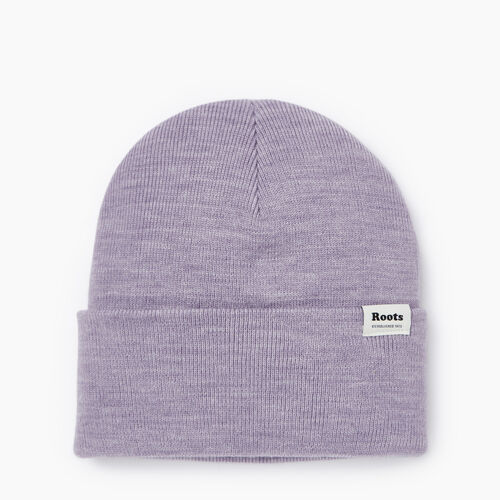 Roots-Clearance Accessories-Bracebridge Toque-Icy Lilac Mix-A
