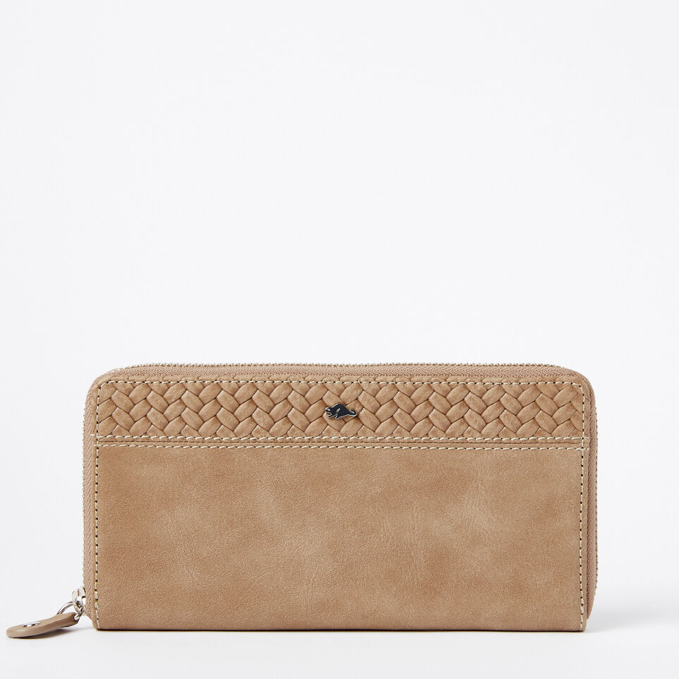 Roots-undefined-Two Toned Wallet Woven-undefined-A