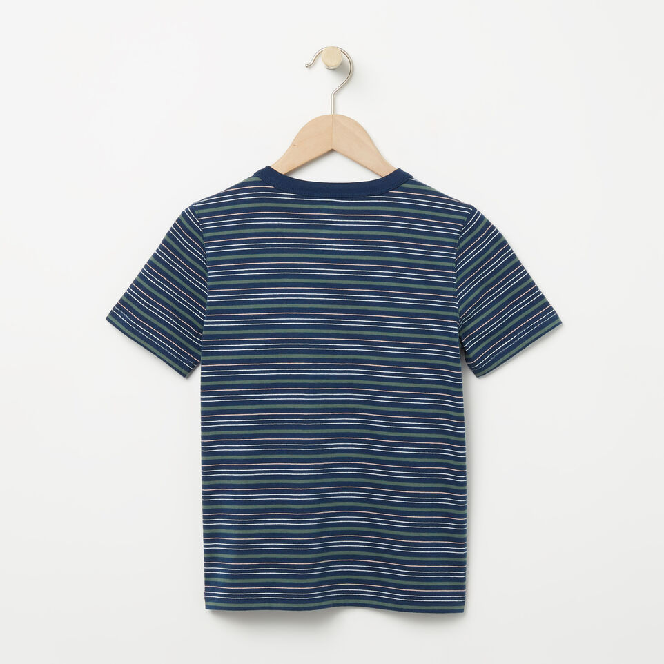 Roots-undefined-Boys Striped Ringer Top-undefined-B