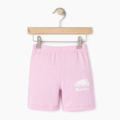 Roots-Kids Toddler Girls-Toddler Original Roots Short-Pastl Lavender Pper-A