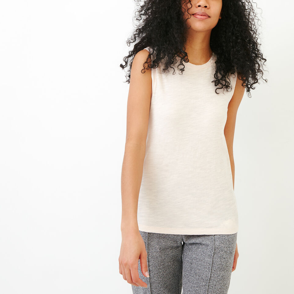 Roots-Women Our Favourite New Arrivals-Lorne Muscle Tank Top-Cloud Pink-A