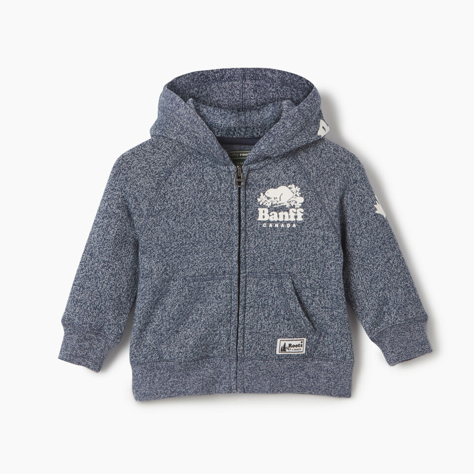 Roots-undefined-Baby Boy Banff Ski City Full Zip Hoody-undefined-A