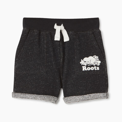 Roots-Kids Baby Boy-Baby Park Short-Black Pepper-A
