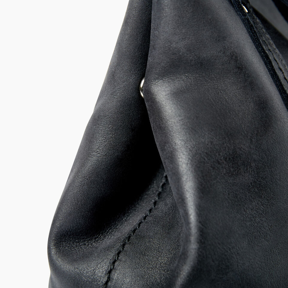 Roots-Leather  Handcrafted By Us Categories-Amelia Tote-Jet Black-D