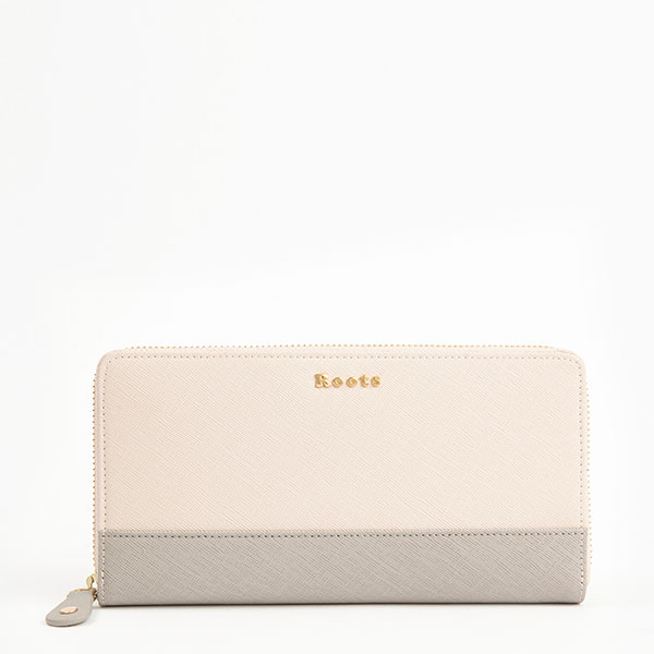 Two Toned Wallet Saffiano