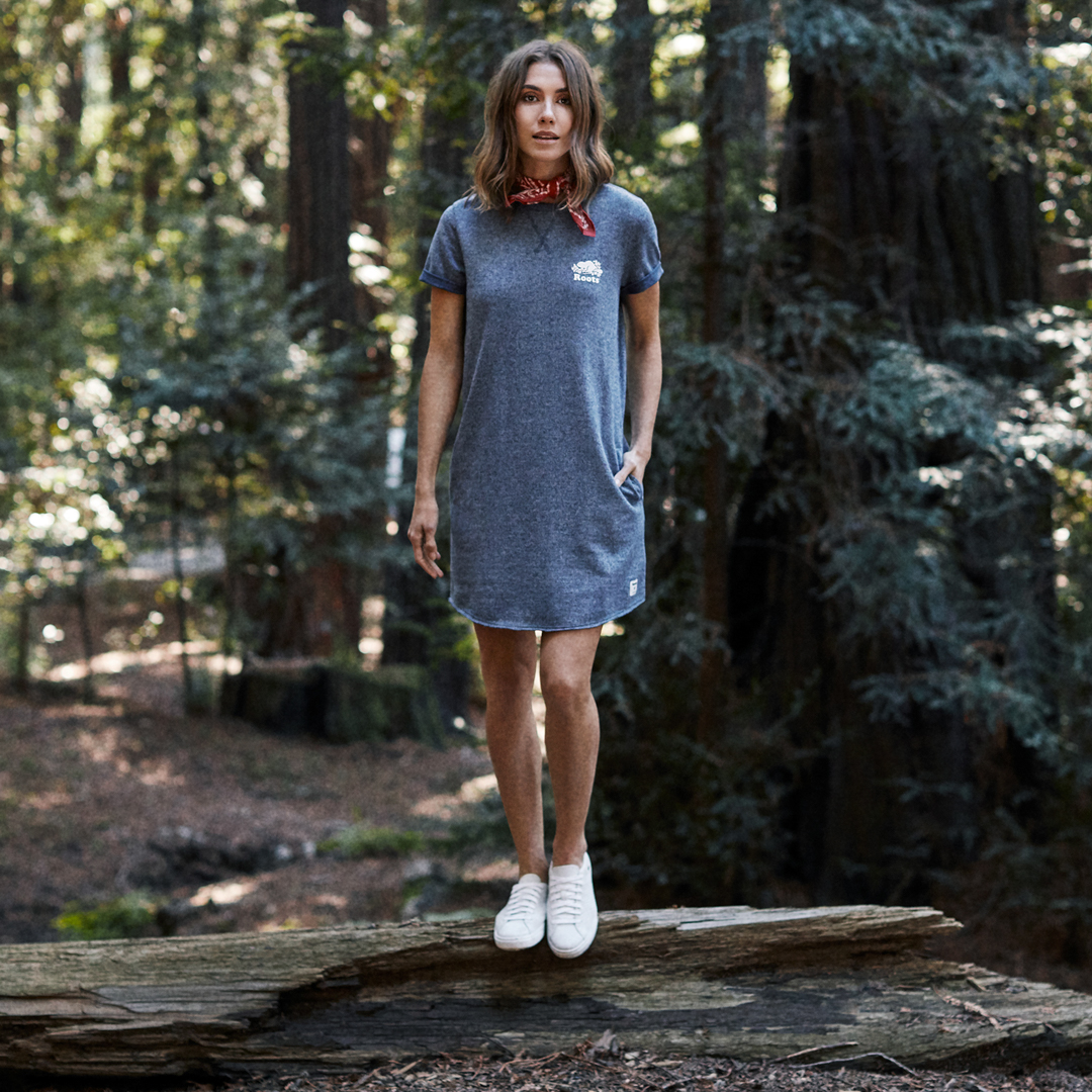 Roots-Women Dresses-Shop The Look: On Our Journey-S