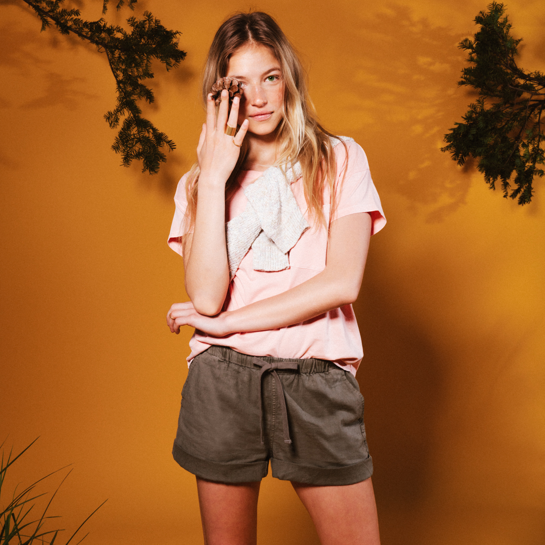 Roots-Women Shorts & Skirts-Shop The Look: New For July-E