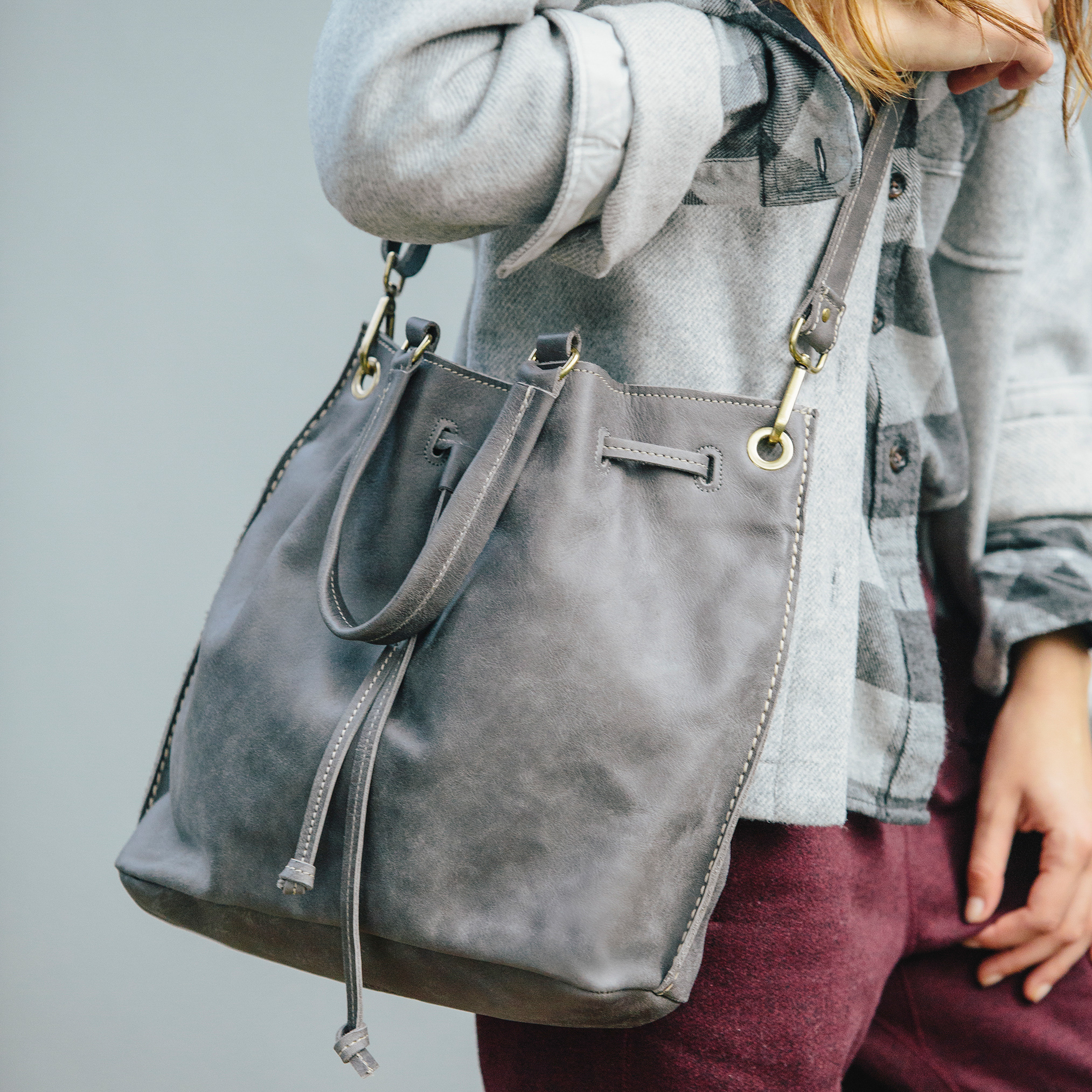 Roots-Women Shoulder Bags-Shop The Look: Cabin Comfort, City Style-G