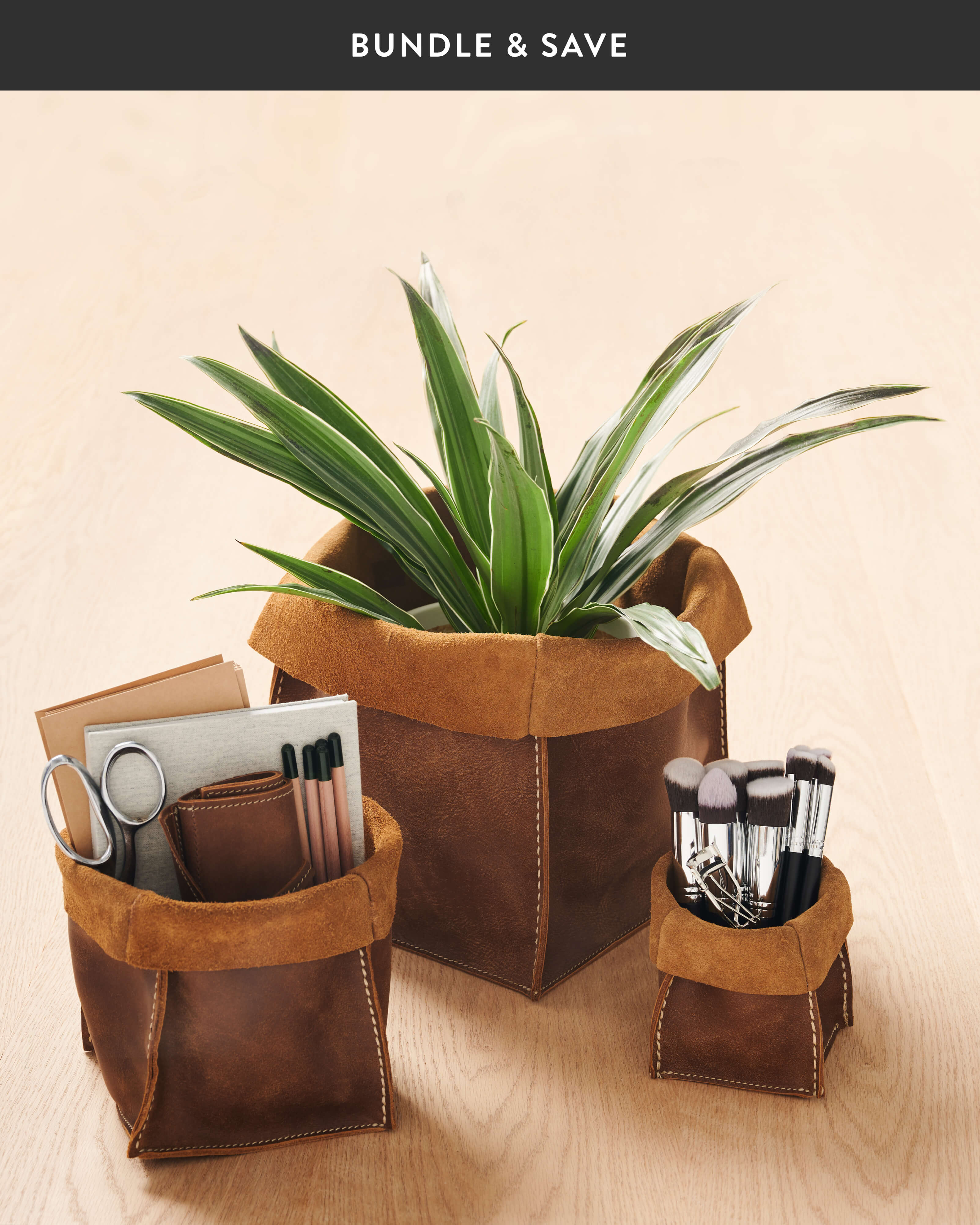 Roots-Leather Leather Accessories-Shop The Look: Home Accessories Bundle -1