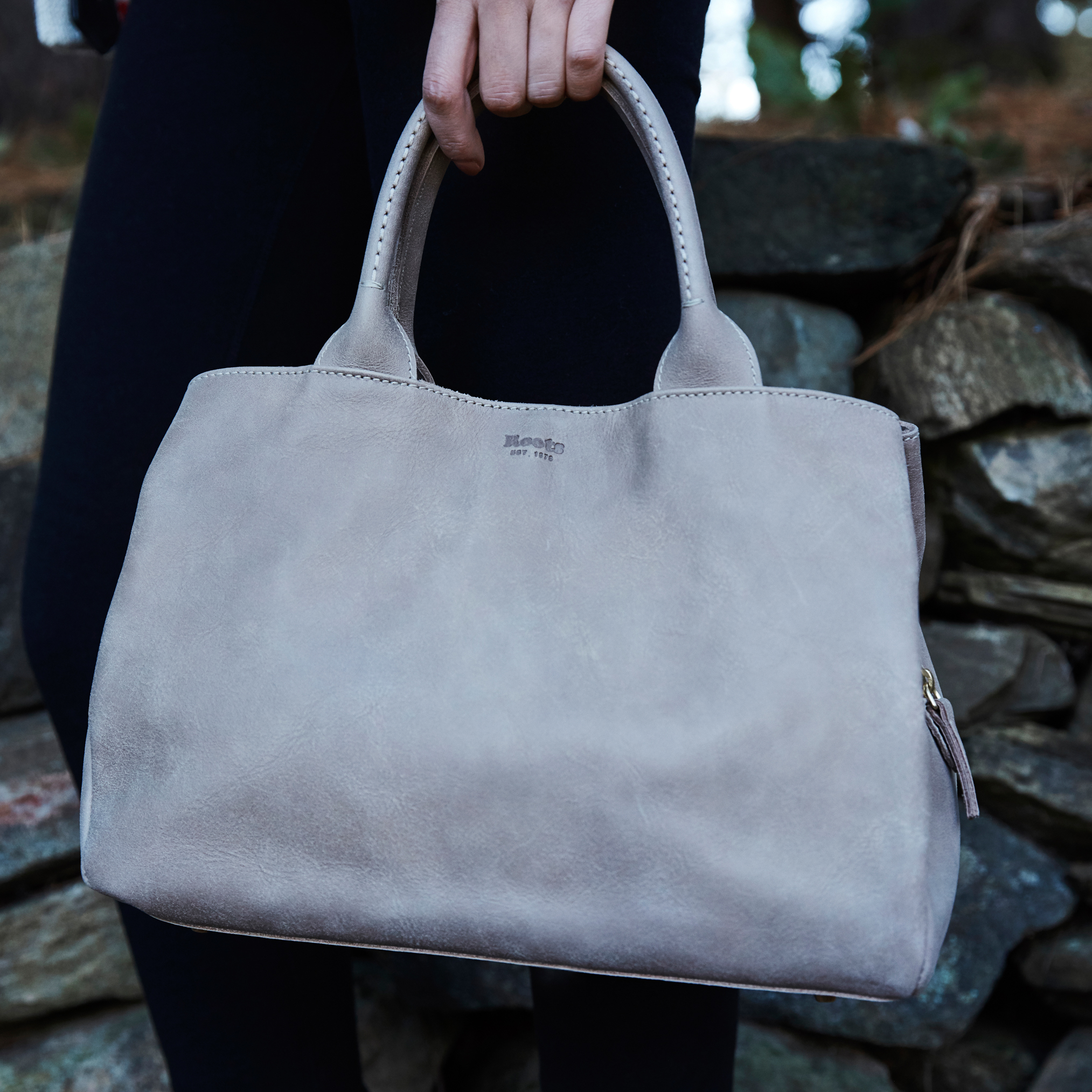 Roots-Leather  Handcrafted By Us Handbags-Shop The Look: Love Our Roots-L