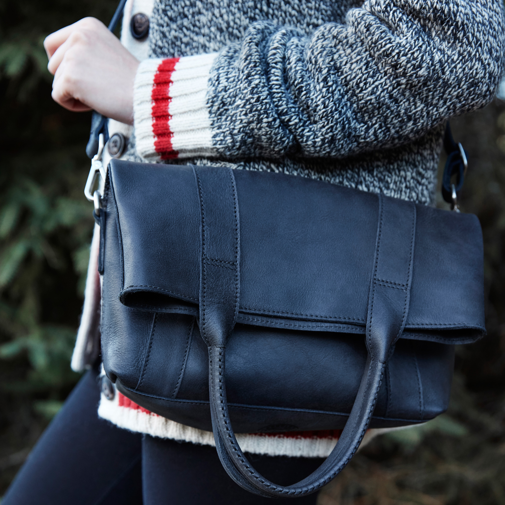 Roots-Leather  Handcrafted By Us Handbags-Shop The Look: Love Our Roots-E